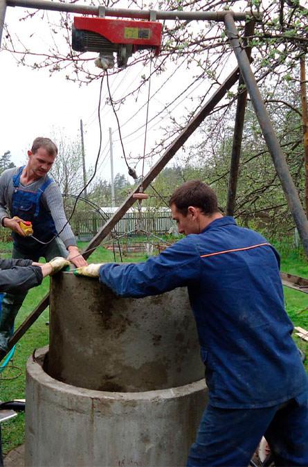 Как мы углубляем колодец в Дмитровском районе