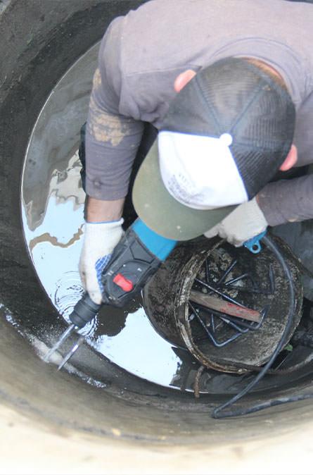 Как мы выполняем ремонт колодцев в Дмитровском районе